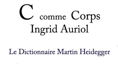 C comme Corps